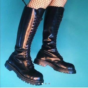 Dr. Martens Shoes - Excellent condition RARE knee high combat boots
